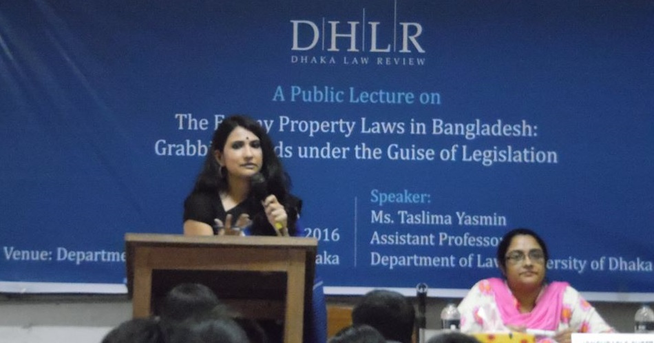 Enemy Property Laws of Bangladesh: Grabbing the Lands Under the Guise of Legislation
